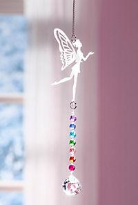 """Hängedeko """"Elfe"""" mit Glaskugeln - Produktdetailbild 1"""