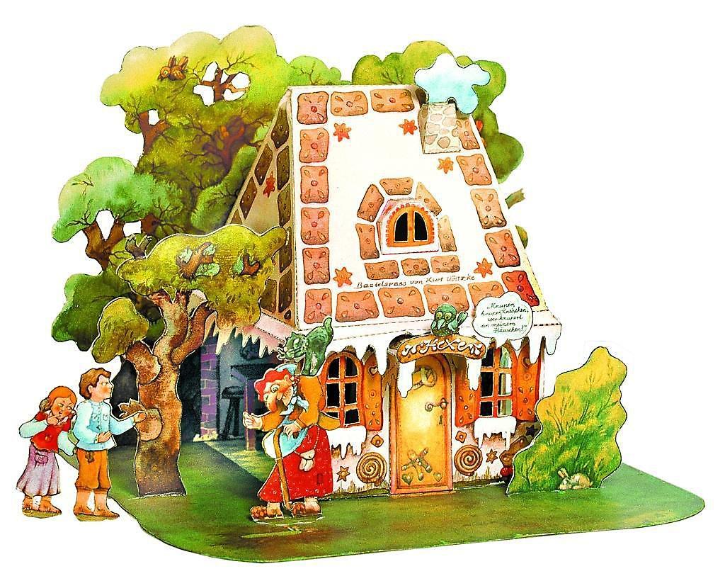 hänsel und gretel hexenhaus ausmalbild  malvorlagen