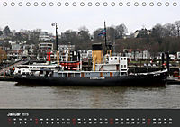Hafen Hamburg 2019 (Tischkalender 2019 DIN A5 quer) - Produktdetailbild 1