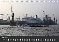 Hafen Hamburg 2019 (Tischkalender 2019 DIN A5 quer) - Produktdetailbild 3
