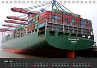 Hafen Hamburg 2019 (Tischkalender 2019 DIN A5 quer) - Produktdetailbild 6