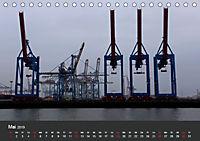 Hafen Hamburg 2019 (Tischkalender 2019 DIN A5 quer) - Produktdetailbild 5