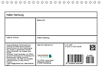 Hafen Hamburg 2019 (Tischkalender 2019 DIN A5 quer) - Produktdetailbild 13