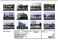 Hafen Hamburg 2019 (Wandkalender 2019 DIN A2 quer) - Produktdetailbild 13