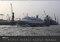 Hafen Hamburg 2019 (Wandkalender 2019 DIN A2 quer) - Produktdetailbild 3