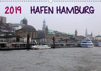 Hafen Hamburg 2019 (Wandkalender 2019 DIN A3 quer), Markus Dorn