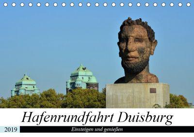 Hafenrundfahrt Duisburg (Tischkalender 2019 DIN A5 quer), Renate Grobelny