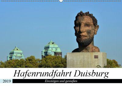 Hafenrundfahrt Duisburg (Wandkalender 2019 DIN A2 quer), Renate Grobelny