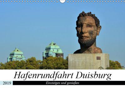 Hafenrundfahrt Duisburg (Wandkalender 2019 DIN A3 quer), Renate Grobelny