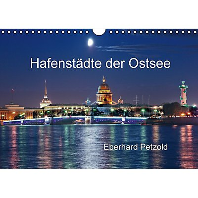 hafenst dte der ostsee wandkalender 2018 din a4 quer. Black Bedroom Furniture Sets. Home Design Ideas