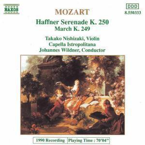Haffner-Serenade/Marsch Kv 249, T. Nishizaki, J. Wildner