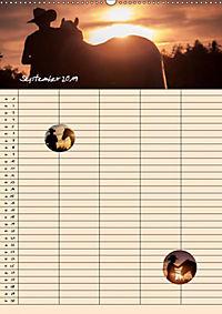 Haflinger Pferde - Stall- und Familienplaner 2019 (Wandkalender 2019 DIN A2 hoch) - Produktdetailbild 11