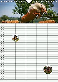 Haflinger Pferde - Stall- und Familienplaner 2019 (Wandkalender 2019 DIN A4 hoch) - Produktdetailbild 2