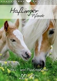 Haflinger Pferde - Stall- und Familienplaner 2019 (Wandkalender 2019 DIN A4 hoch), k.A. Natural-Golden.de