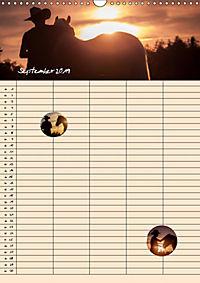 Haflinger Pferde - Stall- und Familienplaner 2019 (Wandkalender 2019 DIN A3 hoch) - Produktdetailbild 9