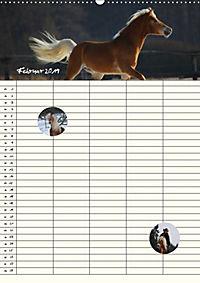 Haflinger Pferde - Stall- und Familienplaner 2019 (Wandkalender 2019 DIN A2 hoch) - Produktdetailbild 2