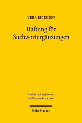Haftung für Suchwortergänzungen, Vera Eickhoff