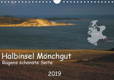 Halbinsel Mönchgut - Rügens schönste Seite (Wandkalender 2019 DIN A4 quer), Marek Witte