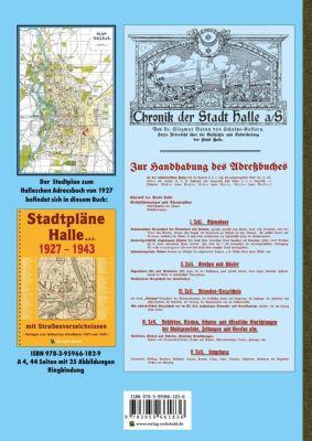 HALLE - Hallesches Adreßbuch 1927