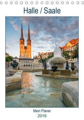 Halle-Saale - Mein Planer (Tischkalender 2019 DIN A5 hoch), Martin Wasilewski