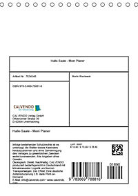 Halle-Saale - Mein Planer (Tischkalender 2019 DIN A5 hoch) - Produktdetailbild 13
