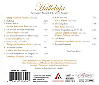 Halleluja-Festliche Chormusik - Produktdetailbild 1