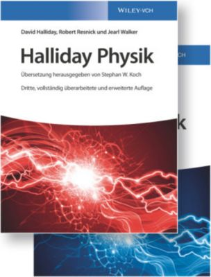 Halliday Physik deLuxe, 2 Bde., David Halliday, Robert Resnick, Jearl Walker