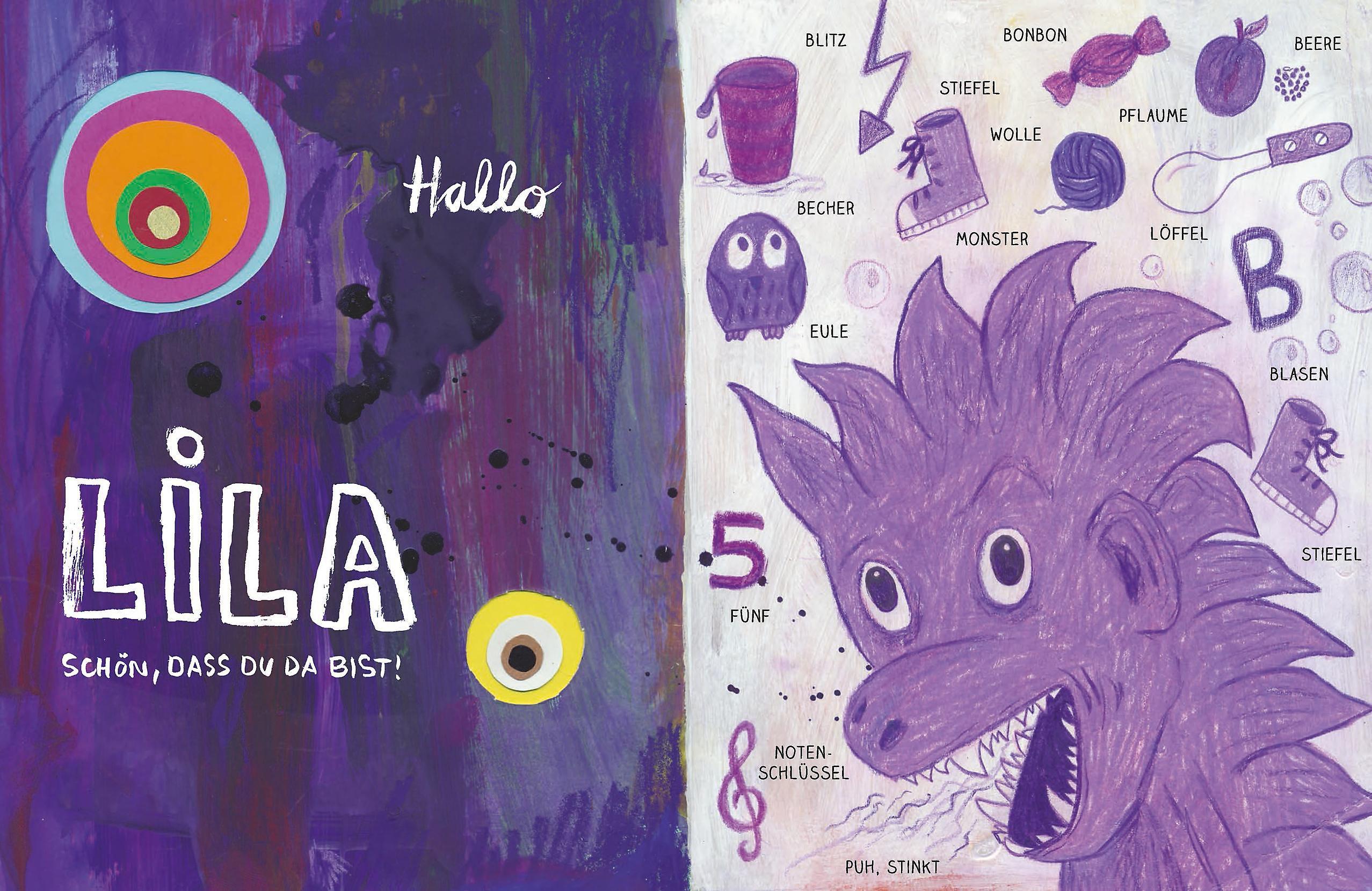 Hallo Lila Guten Morgen Gelb Buch Versandkostenfrei Bei