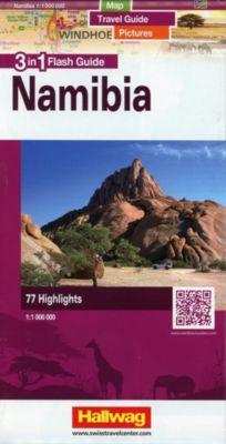 Hallwag Flash Guide Namibia