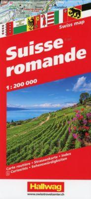 Hallwag Straßenkarte Suisse Romande 1:200 000 -  pdf epub