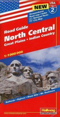 Hallwag USA Road Guide North Central -  pdf epub