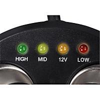 Hama 3-fach-Verteiler für Zigarettenanzünderbuchse, 12V, 8A, LED - Produktdetailbild 2