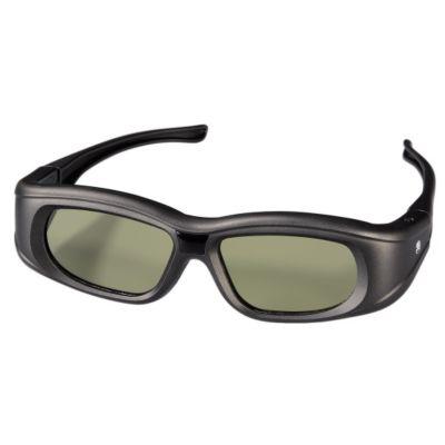 Hama 3D-Shutterbrille für Panasonic 3D-TVs, wiederaufladbar, Schwarz