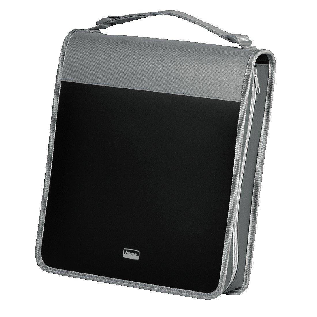 Hama CD-Wallet 200, graphit-silber, Tasche HE   Weltbild.de