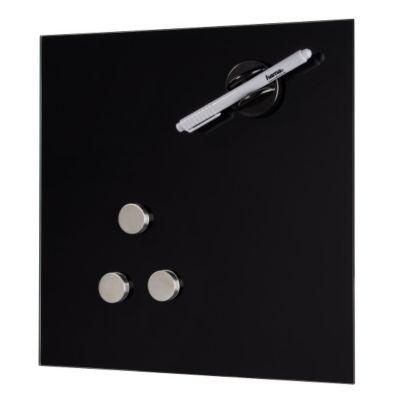 Hama glas magnetboard 40 x 40 cm schwarz for Fenster 40 x 40