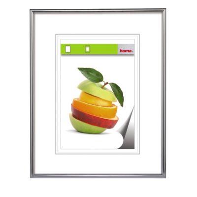 Hama Kunststoffrahmen Sevilla, Silbermatt, Polystyrol, 29,7 x 42 cm, DIN
