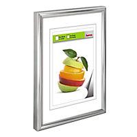 """Hama Kunststoffrahmen """"Sevilla"""", Silbermatt, Polystyrol, 29,7 x 42 cm, DIN - Produktdetailbild 2"""