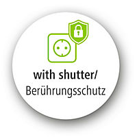 "Hama Mechanische Zeitschaltuhr ""Curved"", Weiss - Produktdetailbild 1"