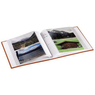 f/ür 200 Fotos in Format 10x15 cm Hama Memoalbum Scenery