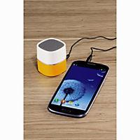 "Hama Mini-Lautsprecher ""Pluto"" (Farbe: weiß/gelb) - Produktdetailbild 1"