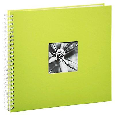 hama spiral album fine art 36 x 32 cm 50 weisse seiten kiwi. Black Bedroom Furniture Sets. Home Design Ideas