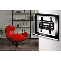 """Hama TV-Wandhalterung FIX """"Ultraslim"""", 3 Sterne, 94 cm (37""""), Schwarz - Produktdetailbild 3"""