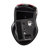 """Hama Wireless Laser Mouse """"Mirano"""", geräuschlos, Rot/Schwarz - Produktdetailbild 1"""