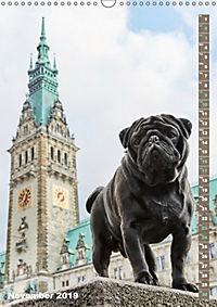 Hamburg - a pug city (Wall Calendar 2019 DIN A3 Portrait) - Produktdetailbild 11