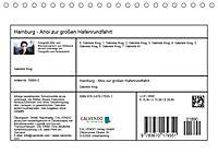 Hamburg - Ahoi zur großen Hafenrundfahrt (Tischkalender 2019 DIN A5 quer) - Produktdetailbild 13