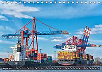 Hamburg - Ahoi zur großen Hafenrundfahrt (Tischkalender 2019 DIN A5 quer) - Produktdetailbild 8