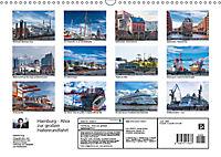 Hamburg - Ahoi zur großen Hafenrundfahrt (Wandkalender 2019 DIN A3 quer) - Produktdetailbild 13
