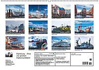 Hamburg - Ahoi zur großen Hafenrundfahrt (Wandkalender 2019 DIN A2 quer) - Produktdetailbild 13