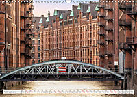 Hamburg. HafenCity, Kontorhausviertel und Speicherstadt. (Wandkalender 2019 DIN A3 quer) - Produktdetailbild 2