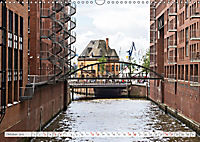 Hamburg. HafenCity, Kontorhausviertel und Speicherstadt. (Wandkalender 2019 DIN A3 quer) - Produktdetailbild 10